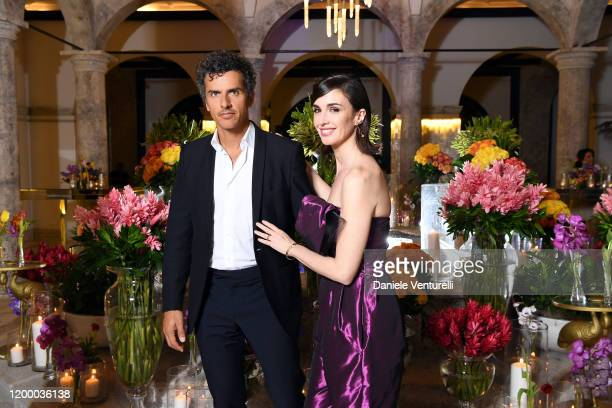 Orson Salazar and Paz Vega attend Cana Dorada Film Music Festival Soft Opening Dominican Night on January 16 2020 in Punta Cana Dominican Republic