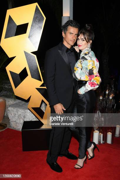 Orson Salazar and Paz Vega attend Cana Dorada Film Music Festival Closing Gala Dinner Honoring Avi Lerner on January 19 2020 in Punta Cana Dominican...