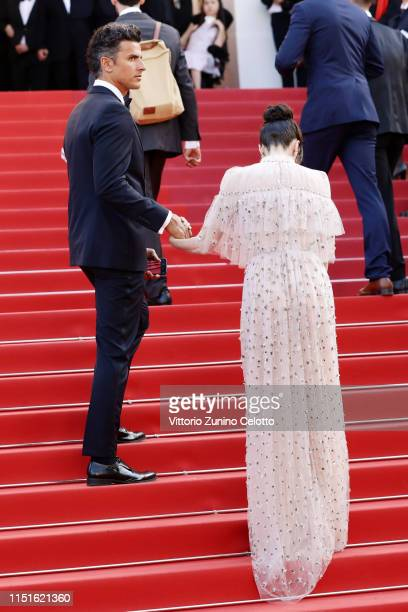 Orson Salazar and Paz Vega attend the closing ceremony screening of The Specials during the 72nd annual Cannes Film Festival on May 25 2019 in Cannes...