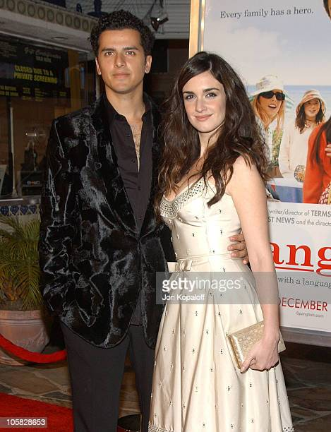 Orson Salazar and Paz Vega during 'Spanglish' Los Angeles Premiere Arrivals at Mann Village Theater in Westwood California United States