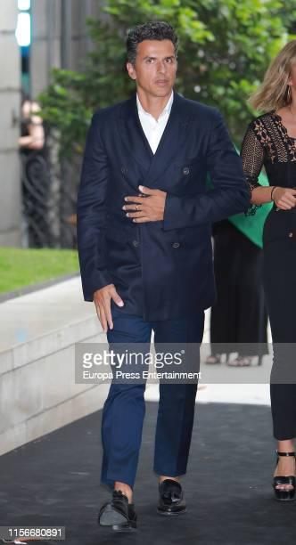 Orson Salazar attends 'Balenciaga Y La Pintura Española' exhibition opening on June 17 2019 in Madrid Spain
