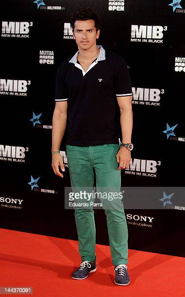 Orson Salazar attends the Men In Black 3 premiere at La Caja Magica on May 13 2012 in Madrid Spain
