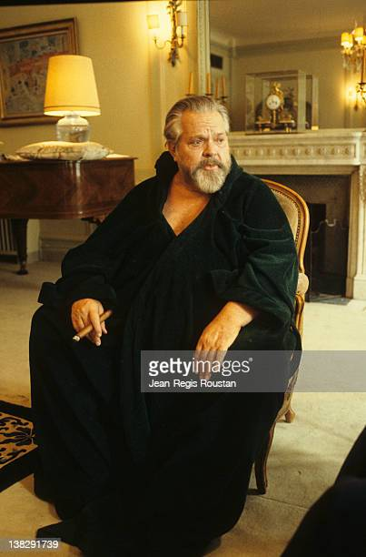 Orson Welles American director and actor 1982