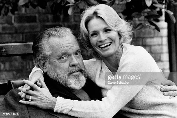 Orson Welles and Angie Dickinson