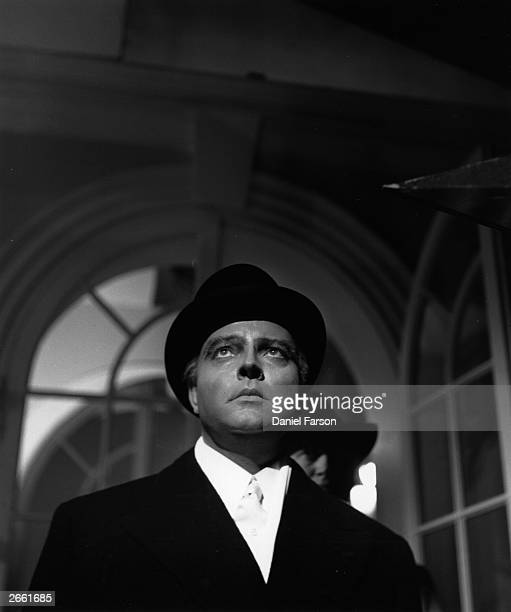 Orson Welles in the film 'Trent's Last Case', filmed in England and directed by Herbert Wilcox for Wilcox-Neagle. Original Publication: Picture Post...