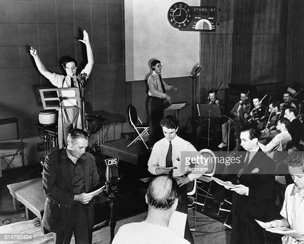 Orson Welles is seen rehearsing his radio depiction of HG Wells' classic The War of the Worlds The broadcast which claimed that aliens from Mars had...