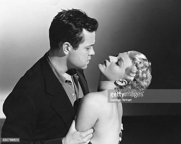 """Orson Welles, producer, writer, director and co-star in Lady From Shanghai."""""""