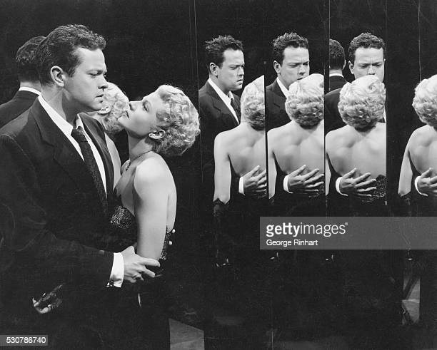 Orson Welles starring in The Lady from Shanghai with his wife at the time Rita Hayworth Welles not only starred in the film but was also the writer...