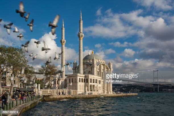 Ortakoy Mosque in Besiktas,Istanbul,Turkey