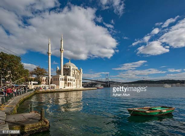 Ortakoy Mosque in Istanbul,Turkey