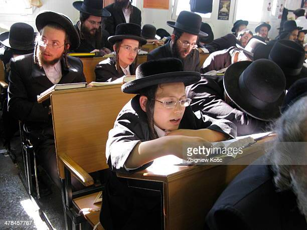 CONTENT] Orthodox Chasidic Jews in the synagogue of Rabbi Nachman in Uman