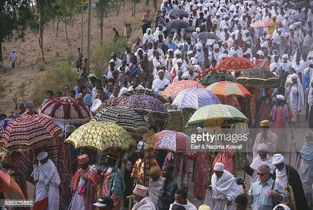 Orthodox Christians on Timkat Festival
