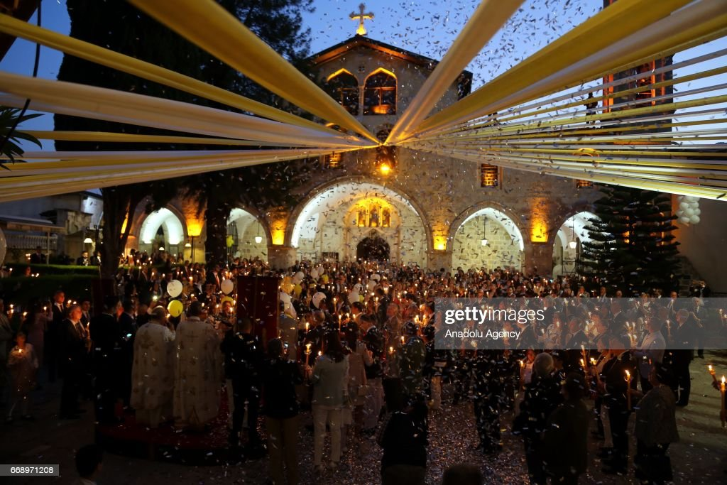 Easter Vigil in Turkey's Hatay : News Photo