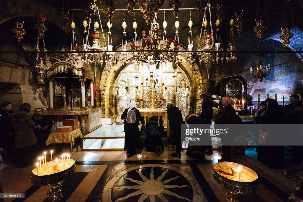 Weihnachten Orthodox.Orthodoxe Weihnachten In Kirche Des Heiligen Grabes Jerusalem Israel
