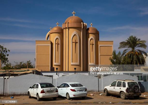 Orthodox church, Khartoum State, Khartoum, Sudan on January 4, 2019 in Khartoum, Sudan.