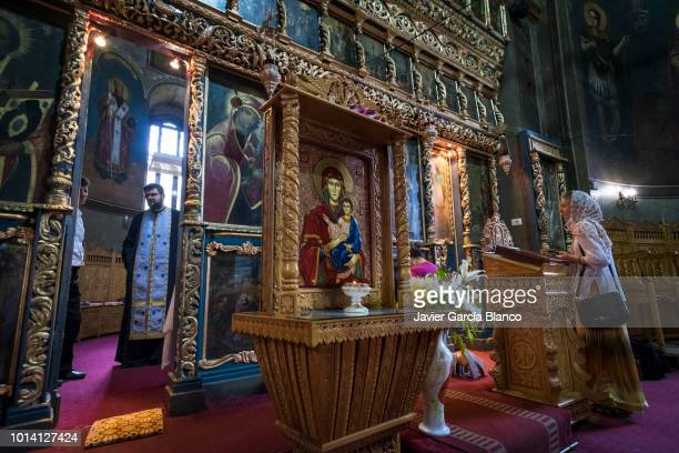 orthodox church of sfantul anton - orthodox church stock pictures, royalty-free photos & images