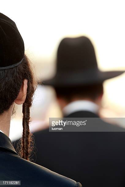 orthodox jew detail - judaism stock pictures, royalty-free photos & images