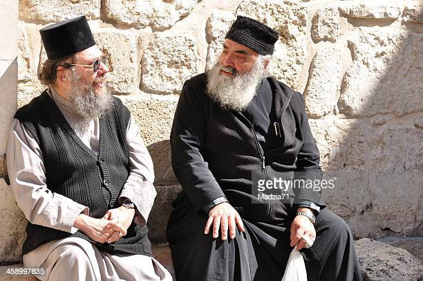 orthodox priests - cleric stock pictures, royalty-free photos & images
