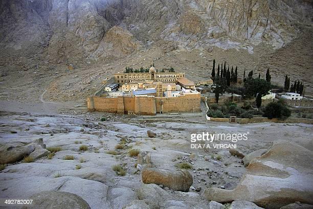 Orthodox Saint Catherine's Monastery Sinai Egypt 6th century