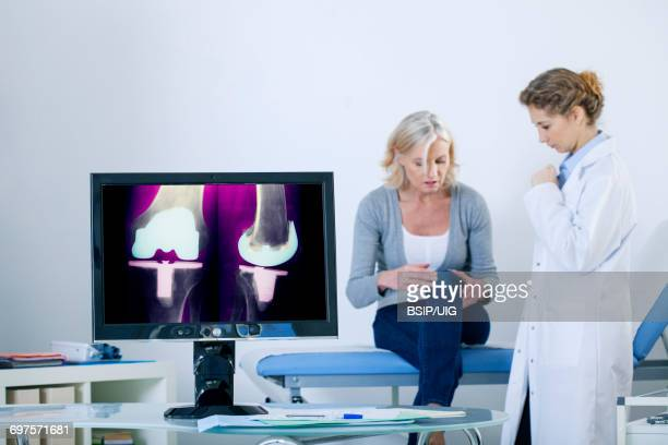 Orthopedic consultation senior