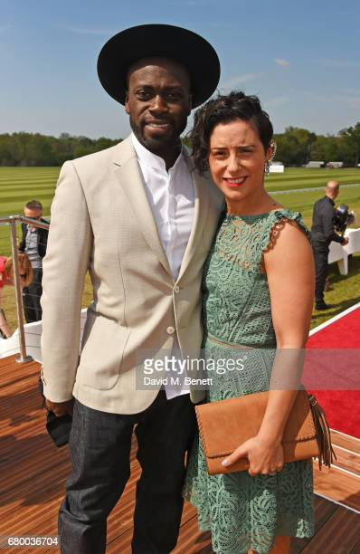 Ortis Deley attends the Audi Polo Challenge at Coworth Park on May 7 2017 in Ascot United Kingdom