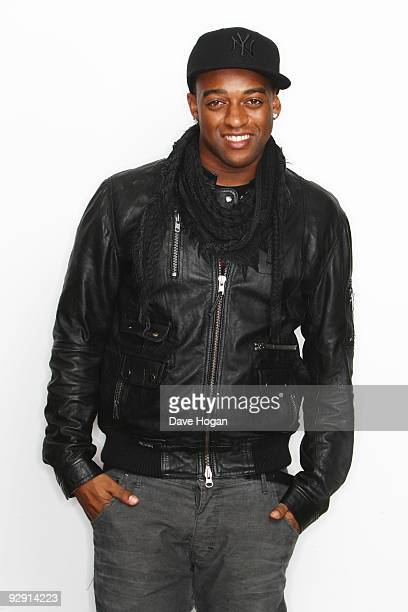 Ortise Williams of JLS poses for portraits to launch their new studio album JLS on November 3 2009 in London England
