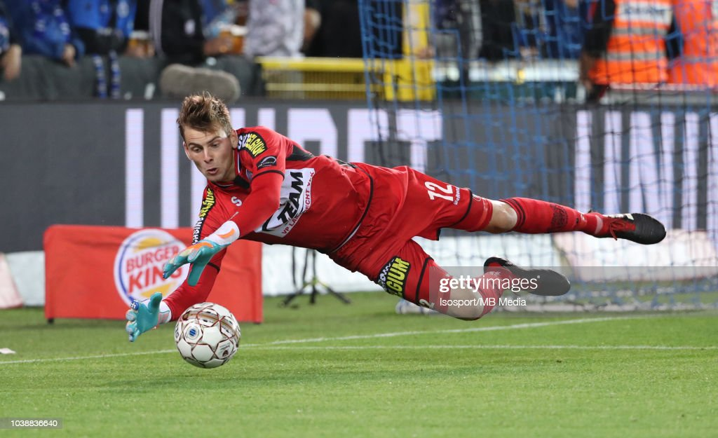 Ortwin De Wolf pictured in action during the Jupiler Pro League match between Club Brugge and KSC Lokeren OV at Jan Breydel Stadium on September 14, 2018 in Brugge, Belgium.