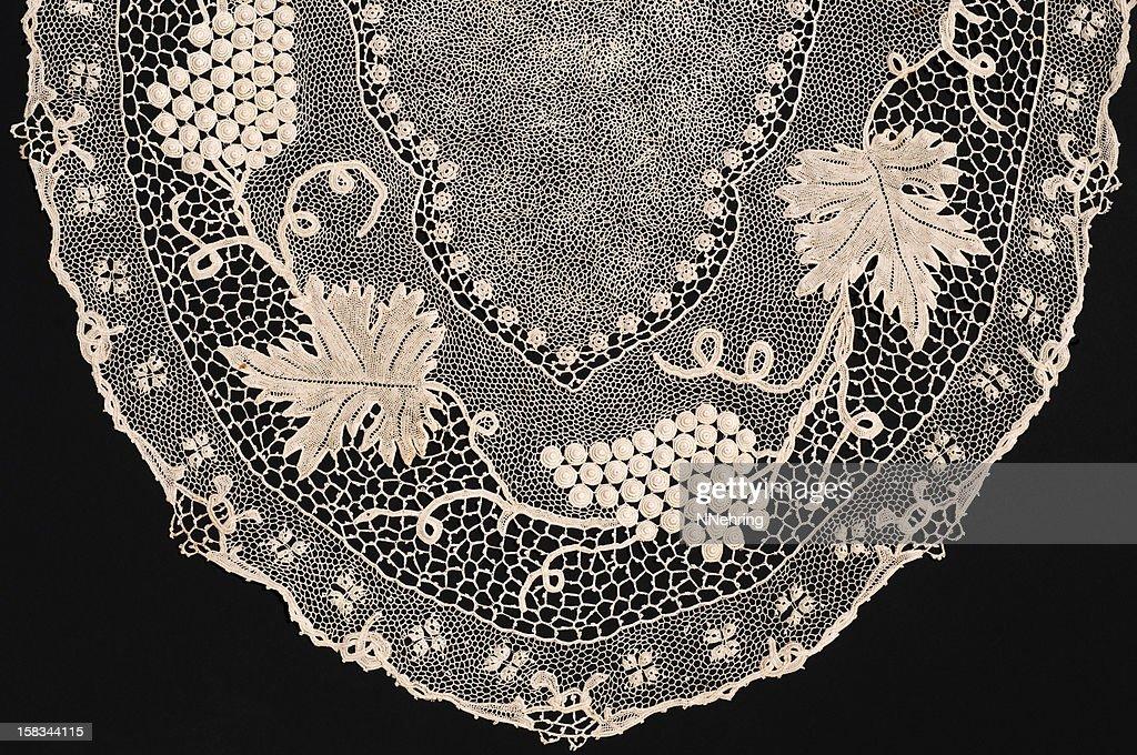 Orvieto crochet lace : Stock Photo