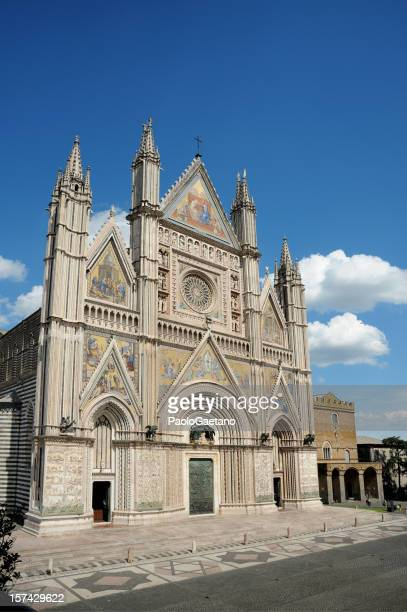 orvieto duomo - orvieto stock pictures, royalty-free photos & images