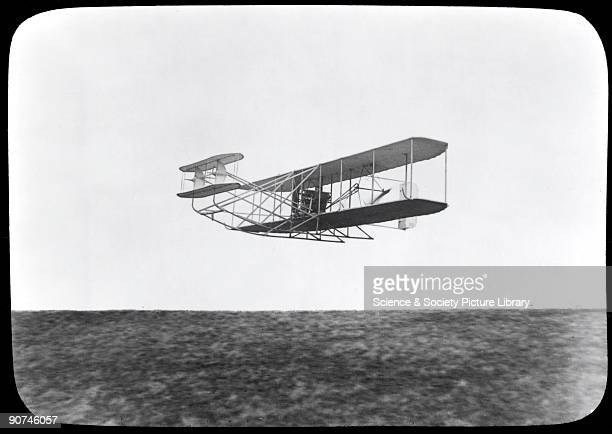 Orville Wright and his brother Wilbur were selftaught American aeroplane pioneers Orville piloted their aeroplane named the 'Flyer' at Kitty Hawk on...