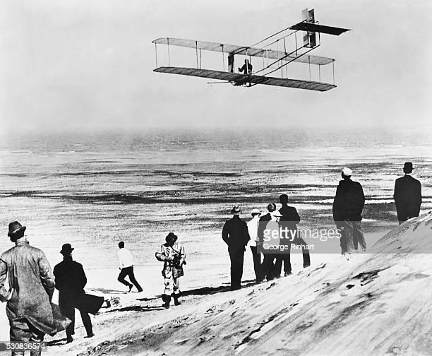 Orville Wright Flying Glider