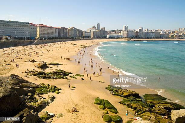 Orzan Beach, A Coruña, Galicia, Spain