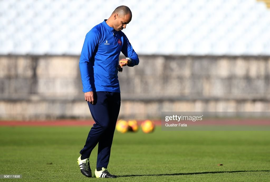 Silas Attends His First Training Session As New Belenenses Head Coach