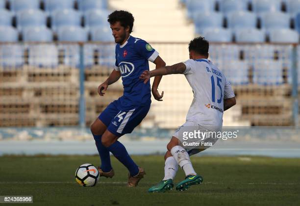 Os Belenenses midfielder Filipe Chaby from Portugal in action during the League Cup match between CF Os Belenenses and Real SC at Estadio do Restelo...