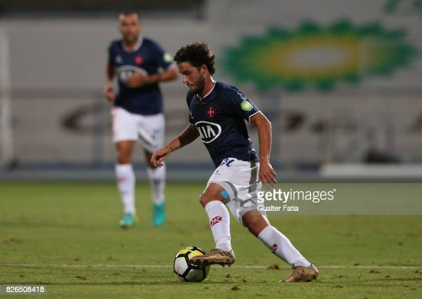 Os Belenenses midfielder Filipe Chaby from Portugal in action during the PreSeason Friendly match between CF Os Belenenses and GD Estoril Praia at...