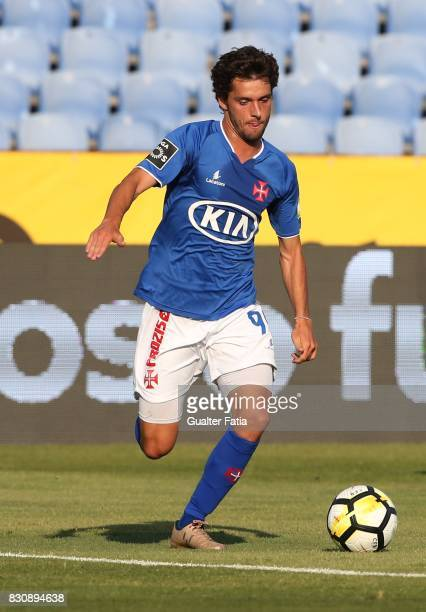 Os Belenenses midfielder Filipe Chaby from Portugal in action during the Primeira Liga match between CF Os Belenenses and CS Maritimo at Estadio do...
