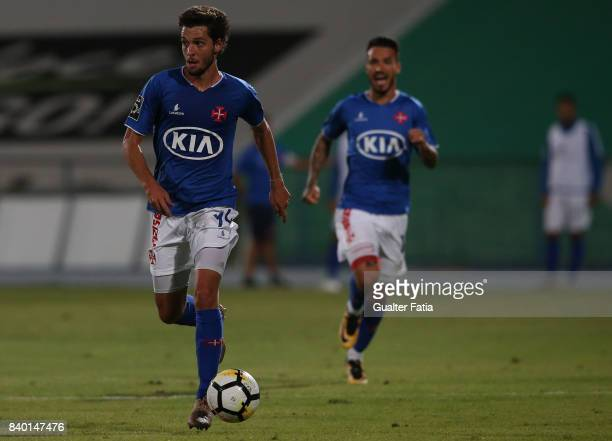 Os Belenenses midfielder Filipe Chaby from Portugal in action during the Primeira Liga match between CF Os Belenenses and Vitoria Setubal at Estadio...