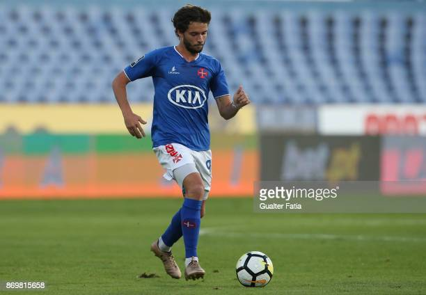 Os Belenenses midfielder Filipe Chaby from Portugal in action during the Primeira Liga match between CF Os Belenenses and Moreirense FC at Estadio do...