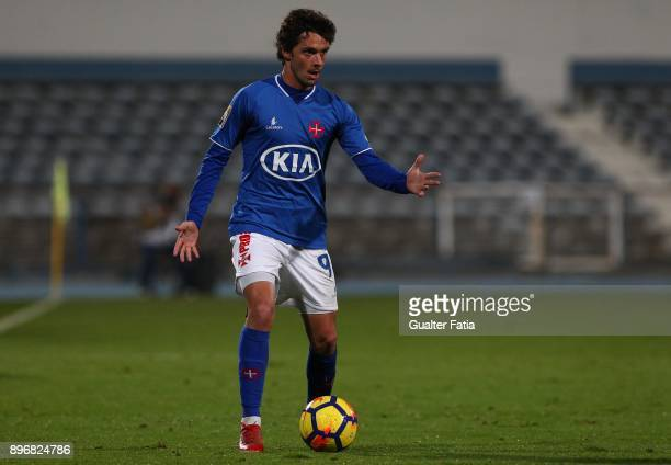 Os Belenenses midfielder Filipe Chaby from Portugal in action during the Portuguese League Cup match between CF Os Belenenses and CS Maritimo at...