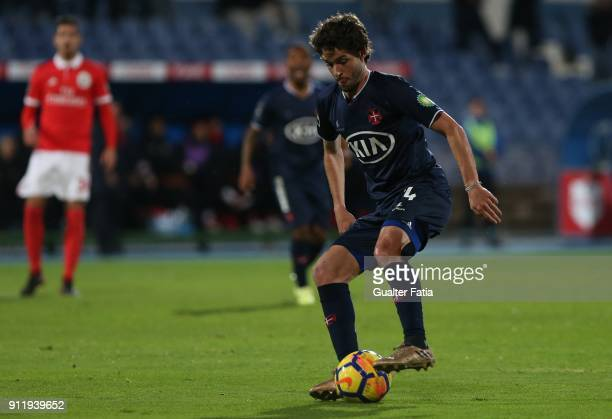 Os Belenenses midfielder Filipe Chaby from Portugal in action during the Primeira Liga match between CF Os Belenenses and SL Benfica at Estadio do...