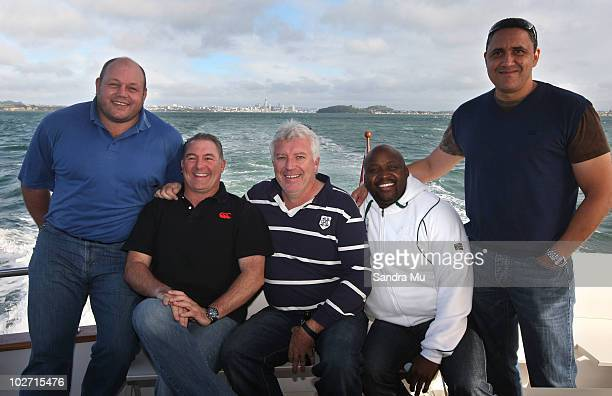 Os Du Randt former South African Springbok Gary Gold assistant coach Neels Liebel conditioning coach Peter Maimane technical analyst and Anthony...