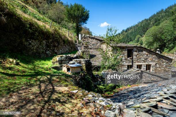 os teixois, taramundi, asturias, spain - percussion mallet stock pictures, royalty-free photos & images