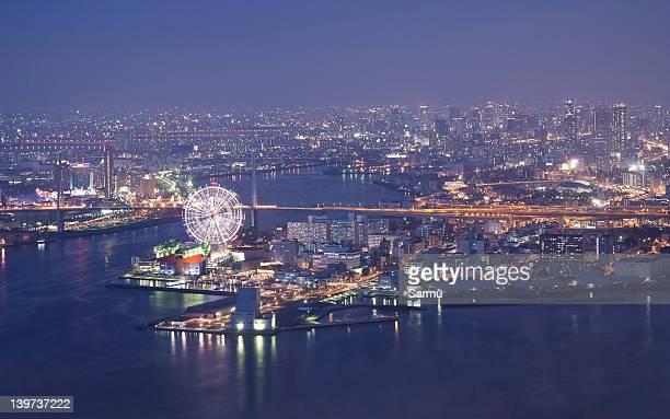 Osaka Bay from World Trade Center
