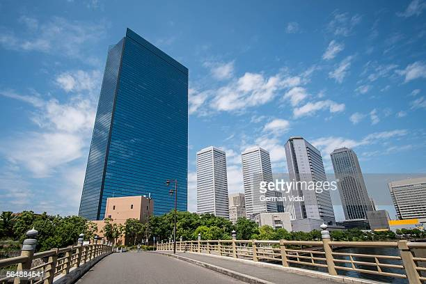 osaka bussiness park - 大阪ビジネスパーク ストックフォトと画像