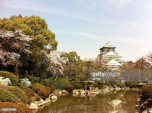 Osaka Castle during Spring in Osaka, Japan