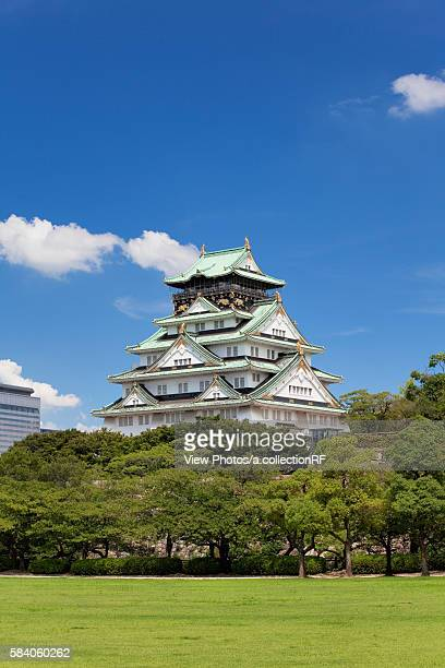 Osaka castle, Osaka Prefecture, Honshu, Japan