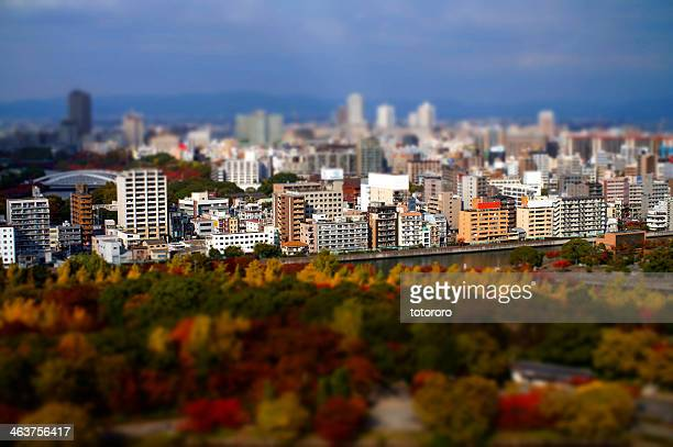 Osaka City Miniature in Autumn