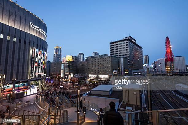 大阪(日本):梅田駅周辺 hanku - 大阪市 ストックフォトと画像