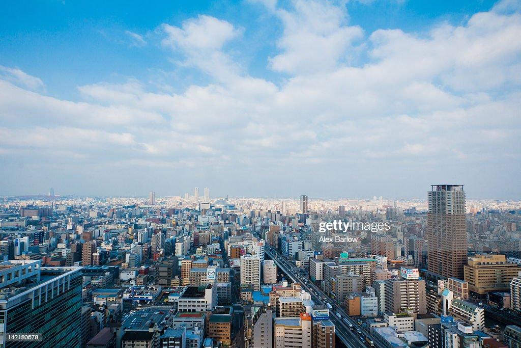 Osaka skyline : Stock Photo