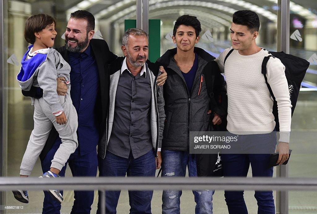 SPAIN-EUROPE-SYRIA-MIGRANTS-FBL : News Photo